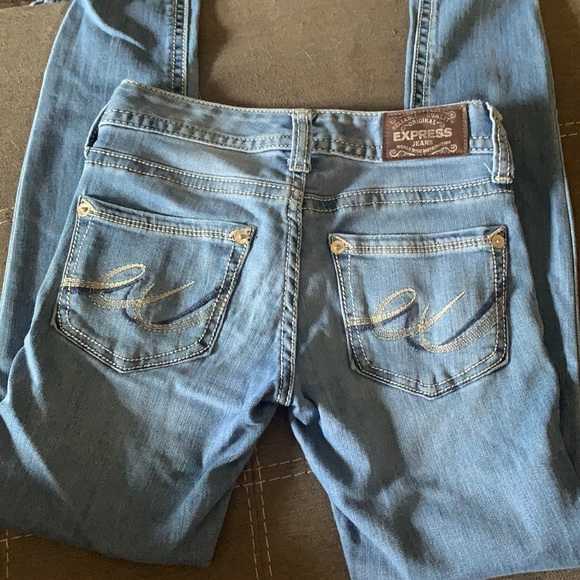 Express Jeans size 00 worn once - still in new condition